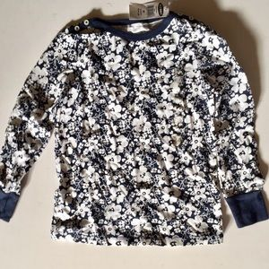 NET Old Navy girl long sleeve printed tee